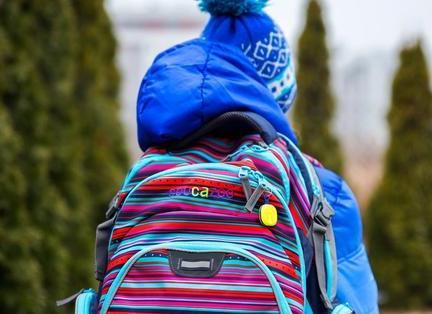 Plecak z lokalizatorem dziecka