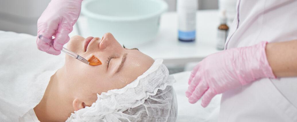 Kwasy w zabiegach kosmetycznych