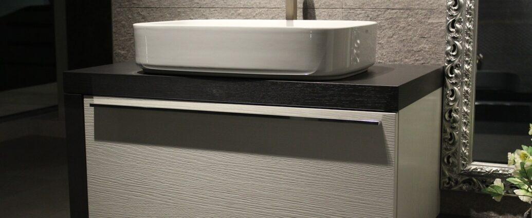 Elegancka umywalka w nowoczesnej łazience
