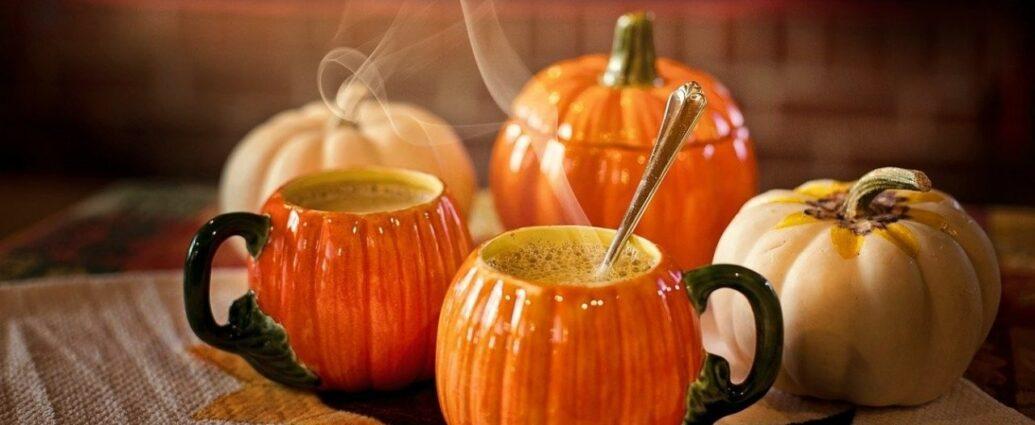Naczynia w kształcie dyni - jesienne dekoracje na Halloween
