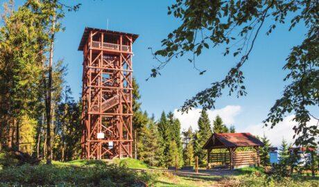 Wieża widokowa na Eliaszówce / Fot. Tadeusz Ogórek
