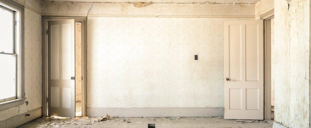 Gruz z mieszkaniu w czasie remontu