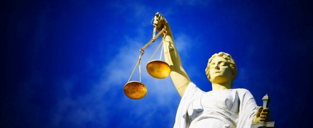Temida - symbol ślepej sprawiedliwości