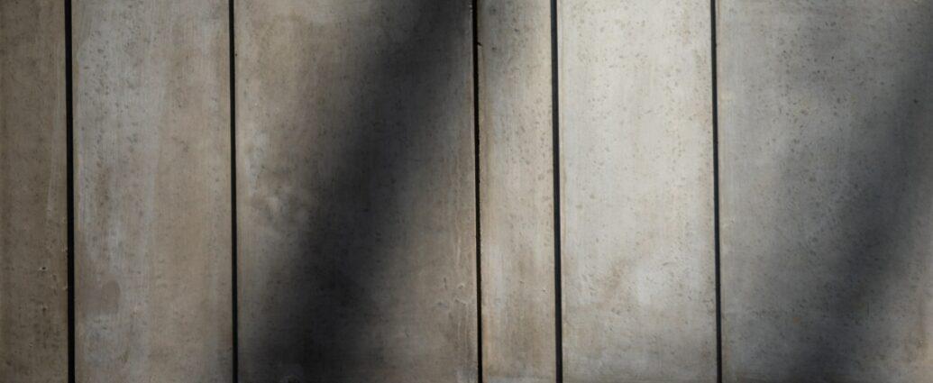 Ściana z betonu dekoracyjnego