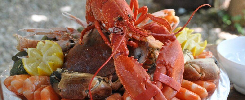 Owoce morza - kraby i krewetki - naturalne źródło astaksantyny