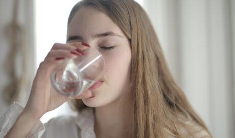 Szklanka filtrowanej wody