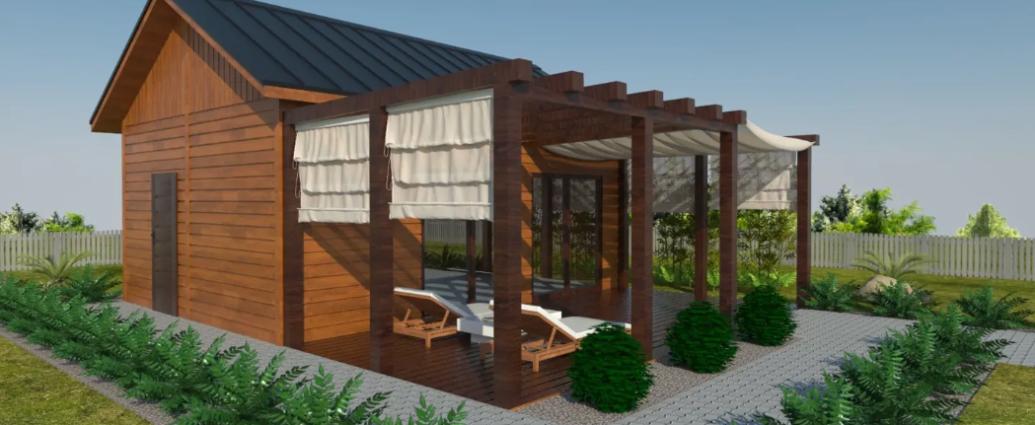 Drewniane domki caałoroczne