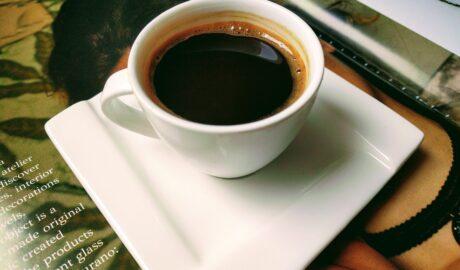 Filiżanka czarnej kawy
