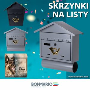 Skrzynki na listy w sklepie internetowym bonmario.com.pl
