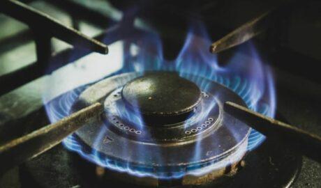 Taboret gazowy w restauracji